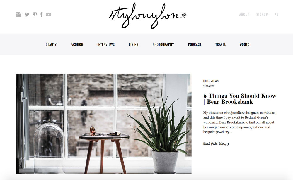 Stylo Nylon Interview with Bear Brooksbank