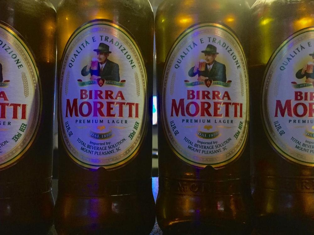 Monica Vitti in a bottle