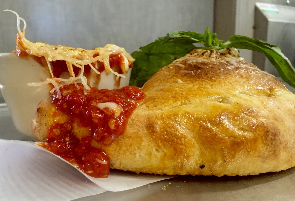 Nick is the calzone master