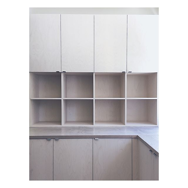 Custom made cabinetry. #custommade #cabinet #furniture #birch #woodworks #office #måttbeställt #skåp #möbler #snickeri #kontor #björk #mittatilaus #mittatilauskalusteet #kaappi #toimisto #kalusteet #puutyöt #pieceofshape