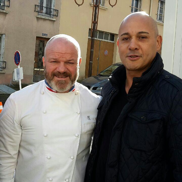 Patrick Petitjean et Philippe Etchebest
