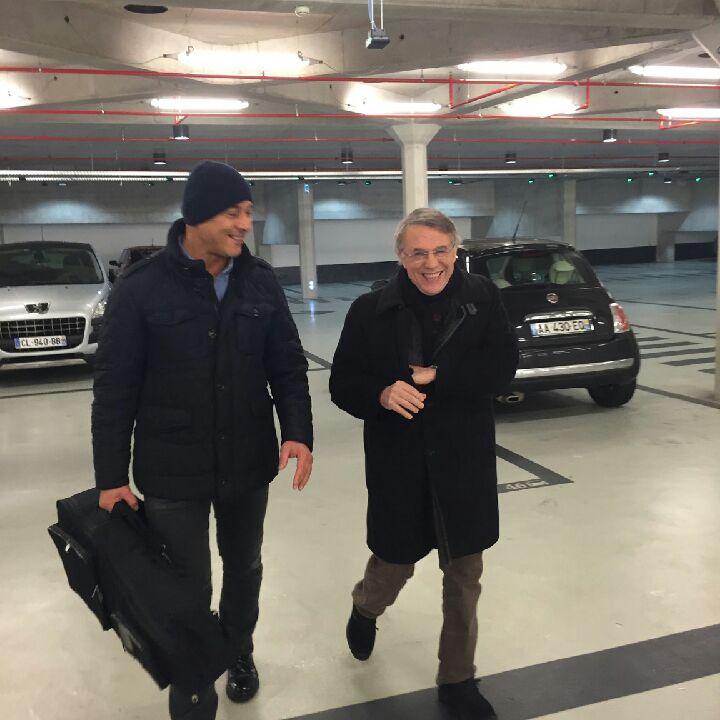 Patrick Petitjean et Salvatore Adamo