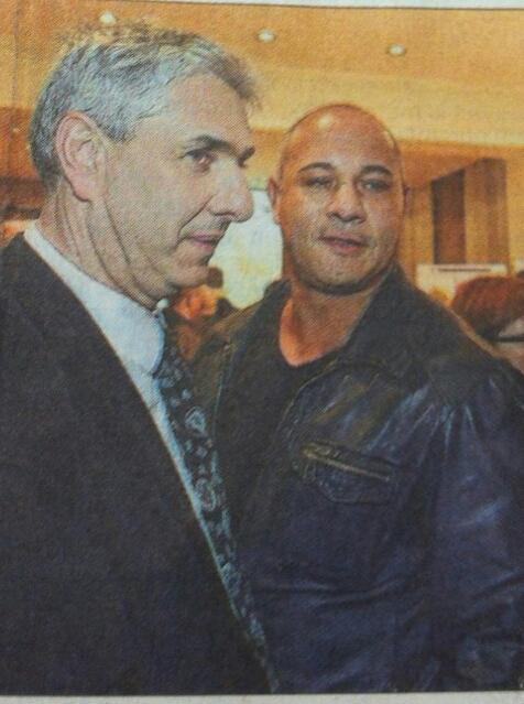 Stéphane Hablot et Patrick Petitjean