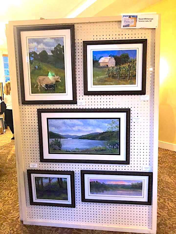 Susan's Wall at the Finger Lakes Plein Air Festival 2018.jpg