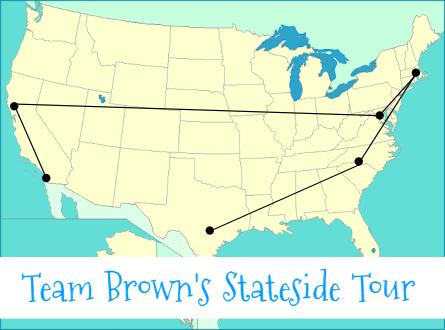 team brown tour