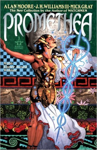 Promethea  by Alan Moore, J.H. Williams III, and Mick Gray. Published by America's Best Comics.