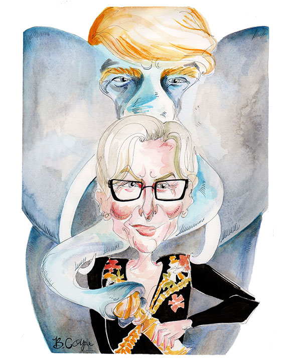 Meryl Streep take down the Elephant in the Room