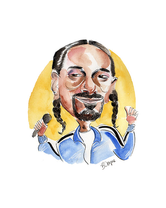 Snoop Dogg Portrait