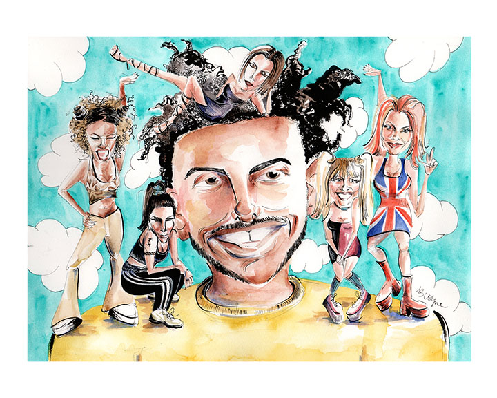 Amine Needs a Spice Girl