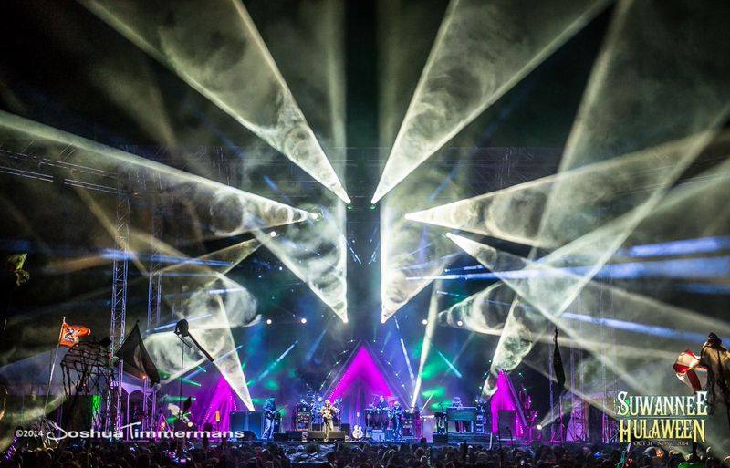 The String Cheese Incident at Suwannee Hulaween 2014