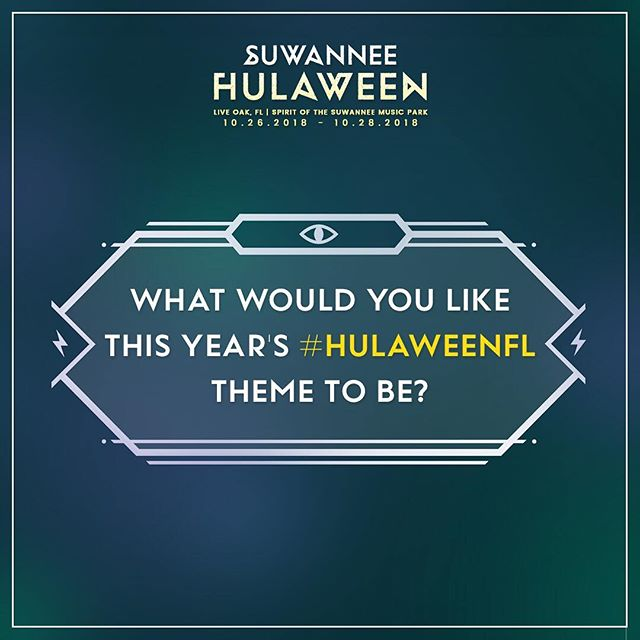 ✨ Time to put your brains to work! Tell us what your dream theme would be for #HulaweenFL this year. ✨