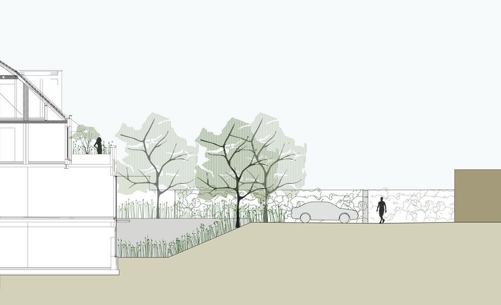 tuinarchitect_steyaert_parking_gleditsia_brugge_tuinplan_fotografieJoyceGoossens