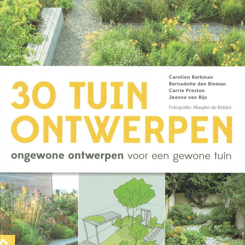 30 tuinontwerpen, juin 2016