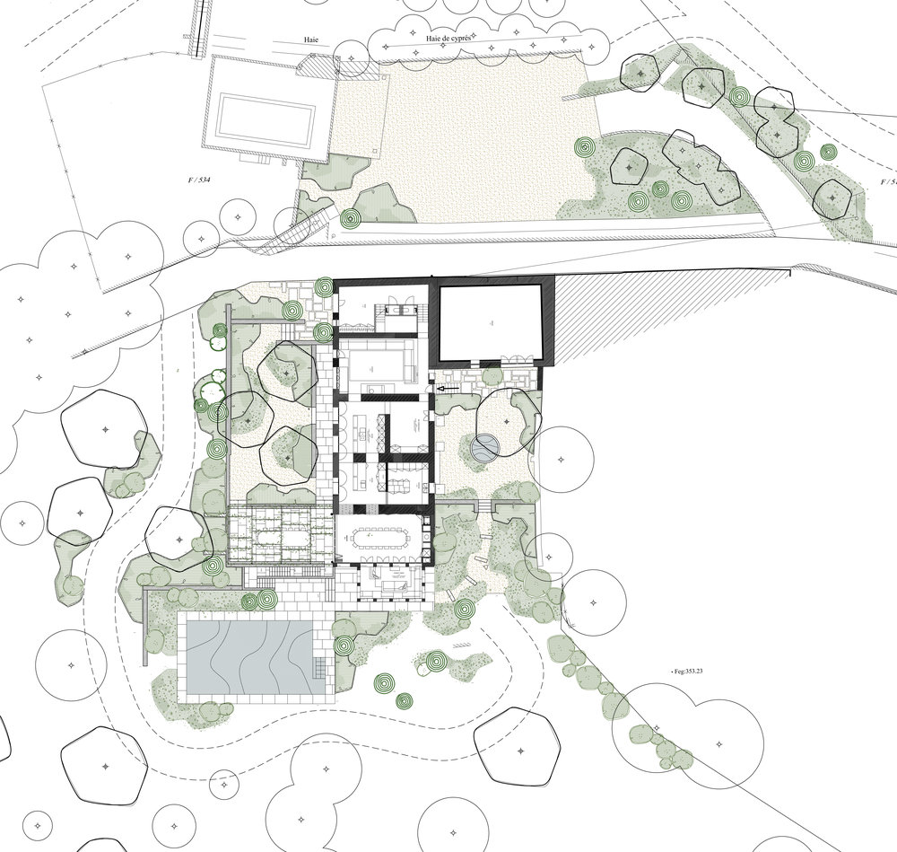 tuinarchitect_steyaert_brussel_venasque_vaucluse_avignon_bergen_cypres_plan