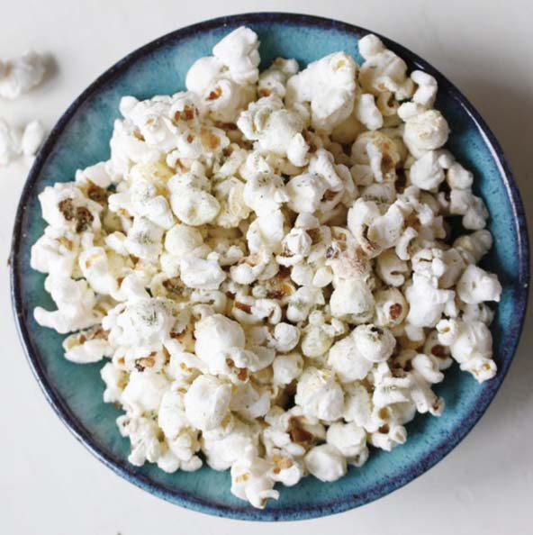 rosemary & lemon popcorn
