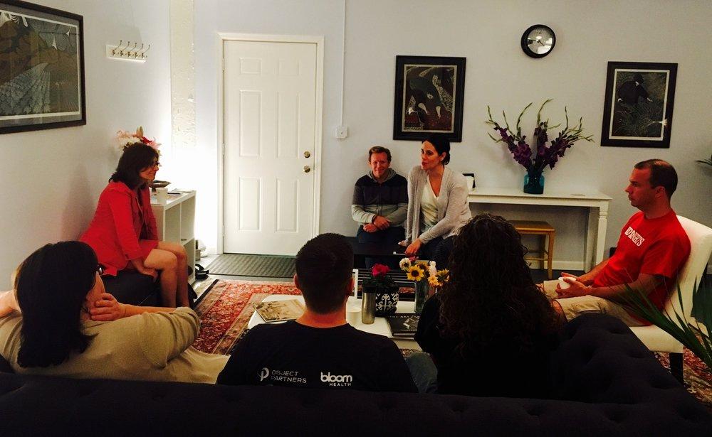 Vedic meditation class, meditation instruction
