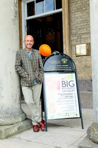 Chris Hemingway MBE at Salisbury Big Business Event