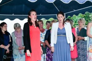 Mezzo Emma Watkinson (fresh from an English Touring Opera tour) and soprano Jane Hughes