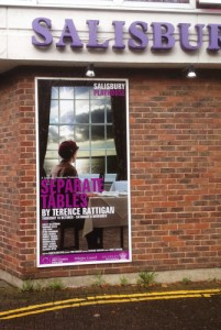 Salisbury Playhouse poster for Seperate Tables poster