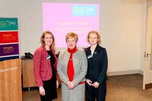 Francer Gillett, Rosemary Macdonald, Elizabeth Webbe
