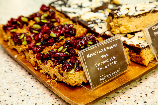 Well Natural Vegan Fruit and Seeded Bar