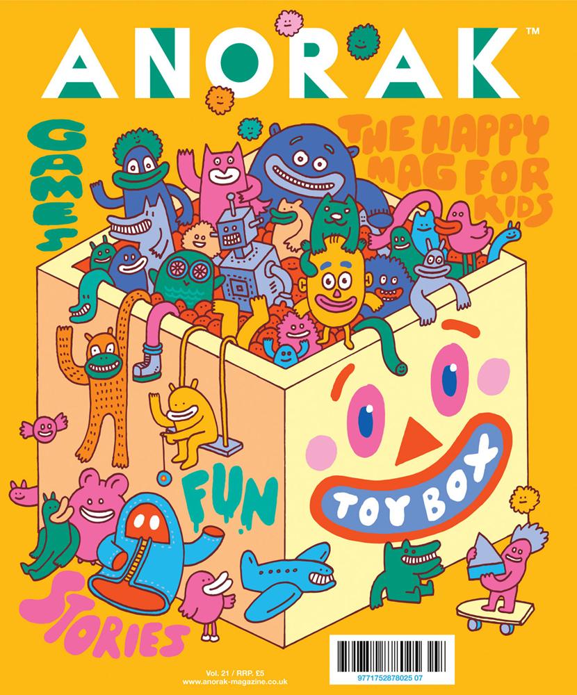 Anorak Cover Design