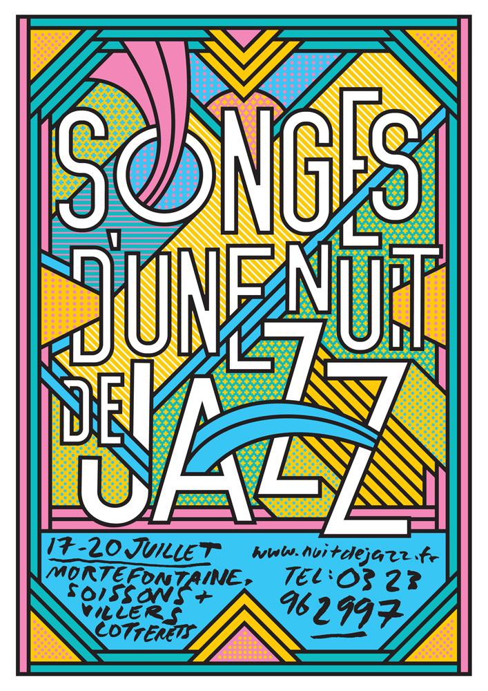 Songes d'une Nuit de Jazz Festival Artwork