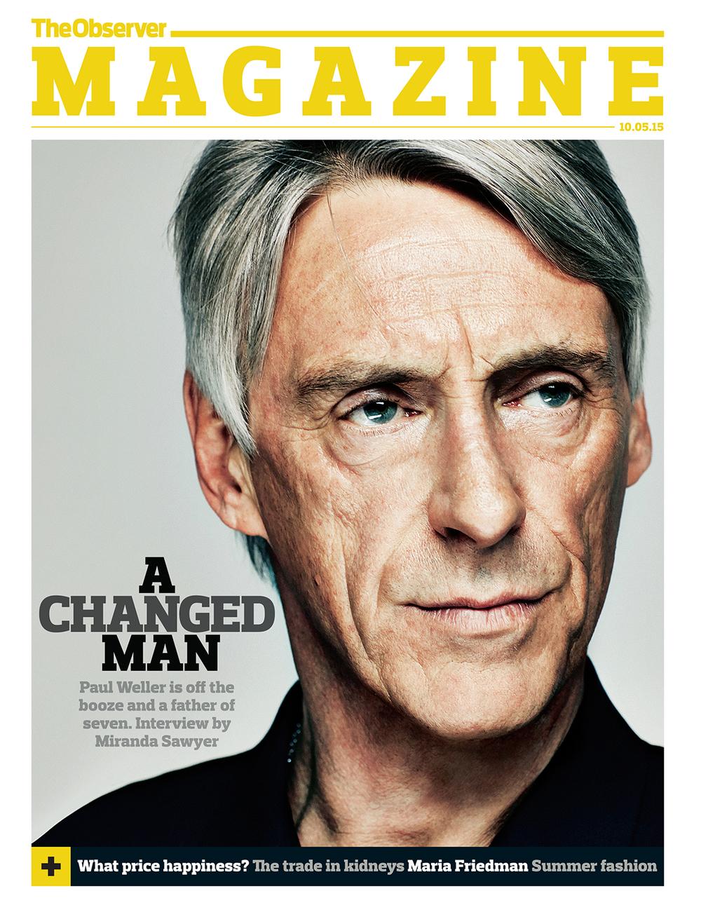 Paul Weller, The Observer Magazine