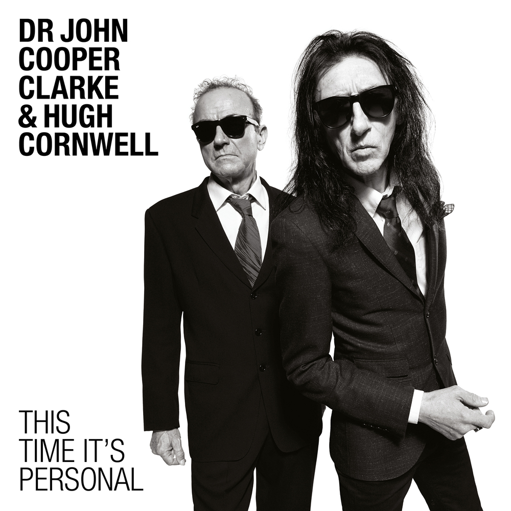 Dr John Cooper Clarke & Hugh Cornwell Album Campaign