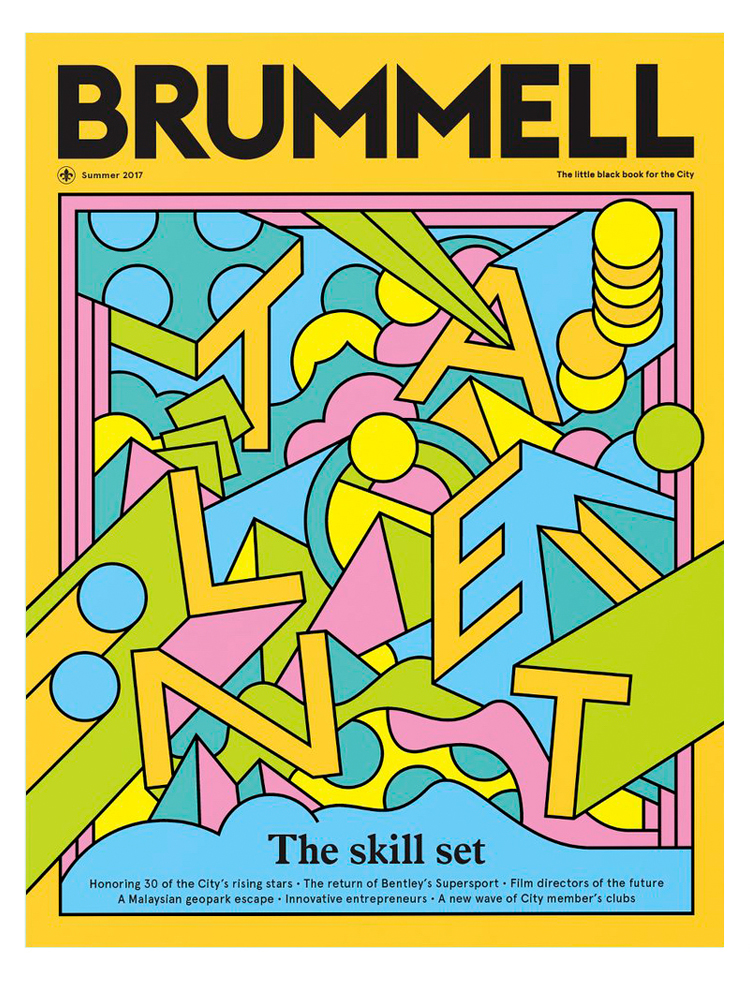 Brummell Magazine Cover Artwork