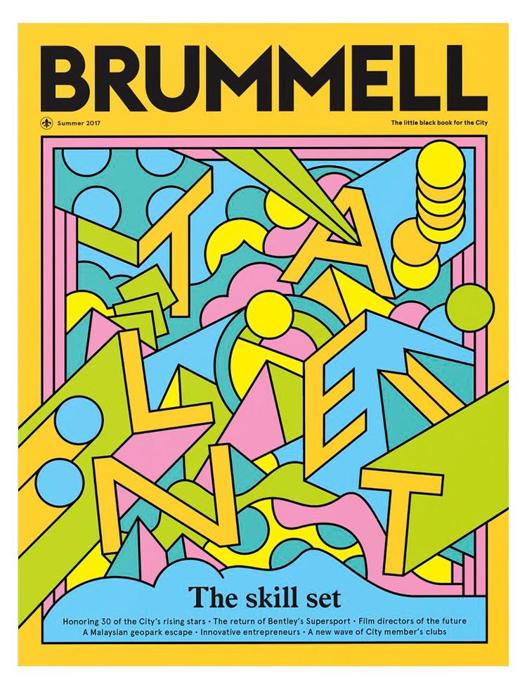 Brummell Magazine Cover Artwork