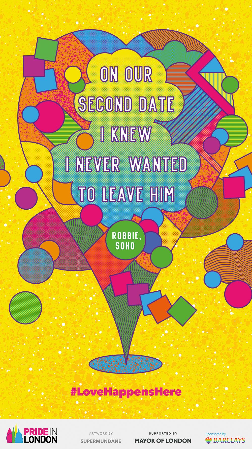 Pride London Poster Design