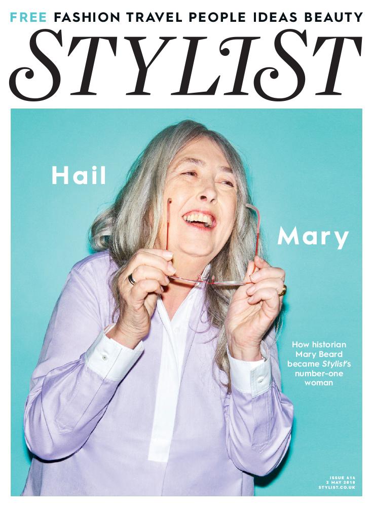 Mary Beard, Stylist Magazine