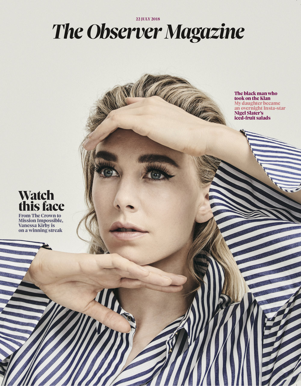 Vanessa Kirby for The Observer Magazine