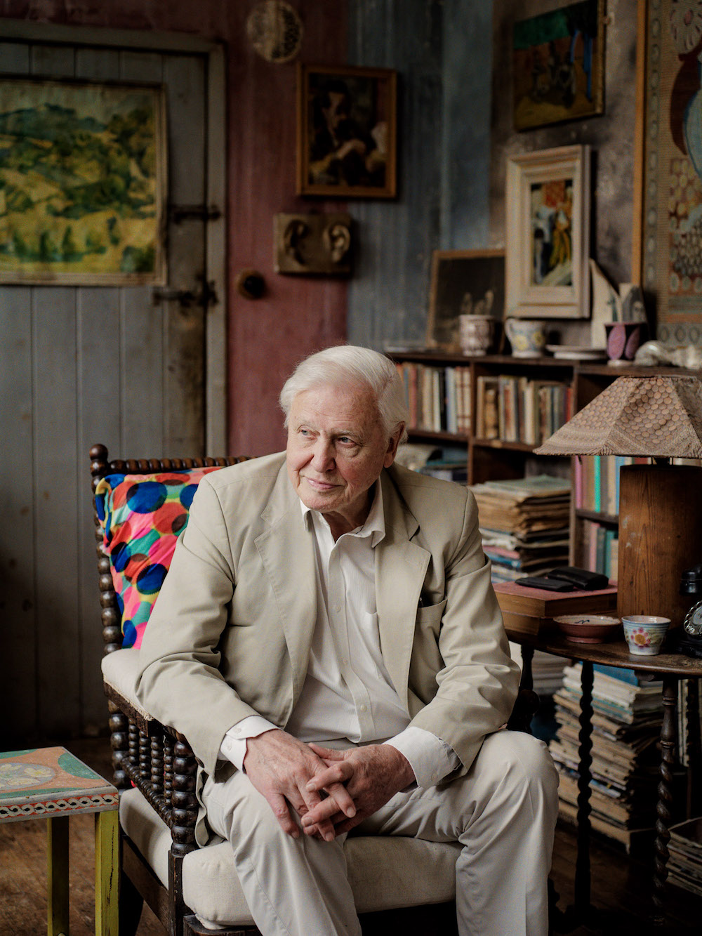 David Attenborough for Sunday Times Magazine