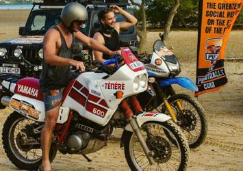 MOTORCYCLE CLASS Only for the most daring! Scooter, BMW, KTM …. or Harley Davidson, it is your choice.  Definitely the most fun and exhilarating way to see Africa but also the toughest mentally and physically. A bucket list item for sure!