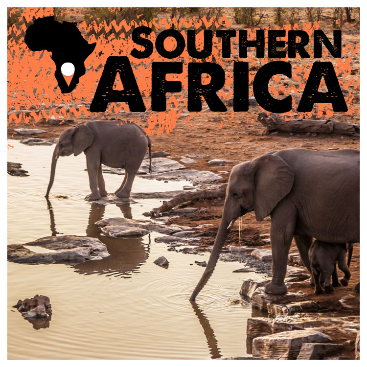 Experience 6 Mind-Blowing Countries - Chart your route to see greatest sites on Earth! Table Mountain,THE Etosha National Park, The Salt Pans, Victoria Falls, The Lake of Stars... and so much more!