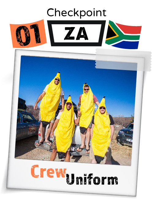 CHECKPOINT SOUTH AFRICA Crew Uniform