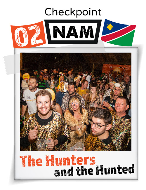 """CHECKPOINT NAMIBIA """"Hunters and The Hunted"""""""