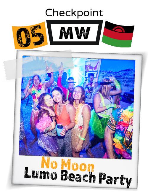 "CHECKPOINT MALAWI ""No Moon Lumo Beach Party"""