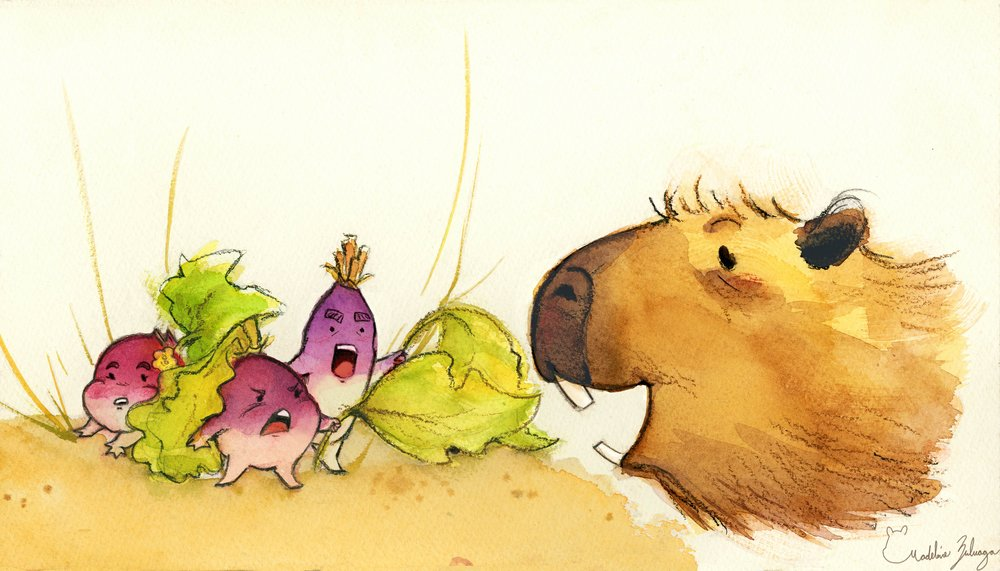 Madeline-Zuluaga---Mr.-Capybara-and-turnip-family.jpg
