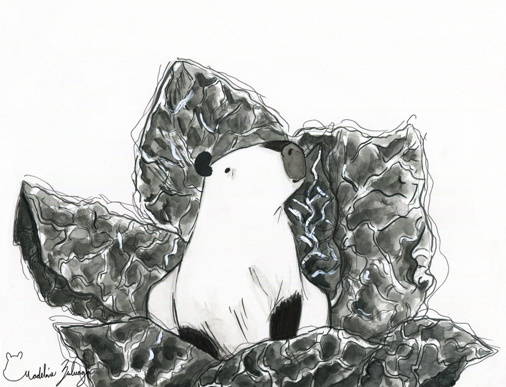 Inktober-4-Madeline-Zuluaga-Capybara-and-its-cabbage-patch.png