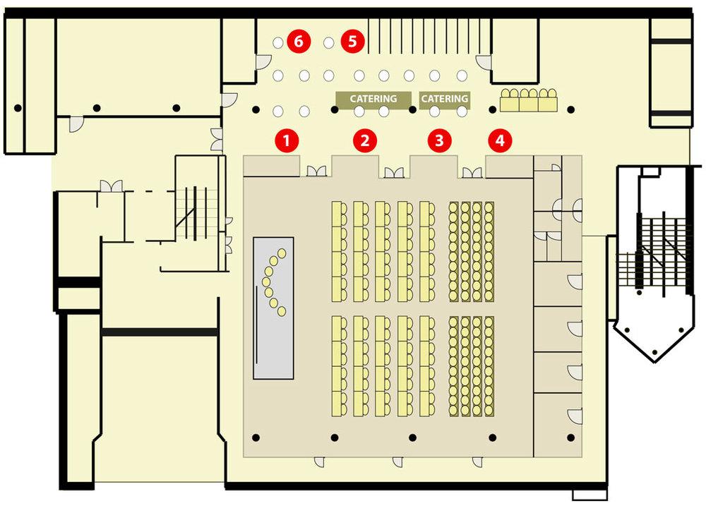 Digital Ship @SMM 2018 floorplan