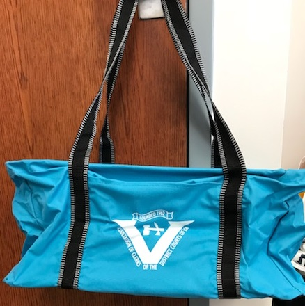 Front Pocket Utility Tote (Blue) $13.50