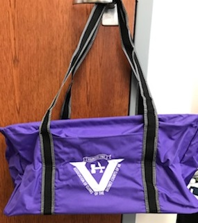 Front Pocket Utility Tote (Purple) $13.50