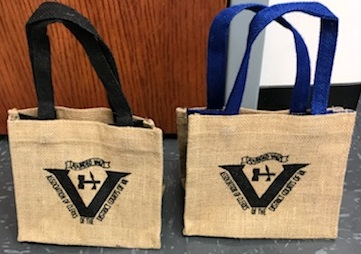 Mini Totes (Blue or Black)  $4.50
