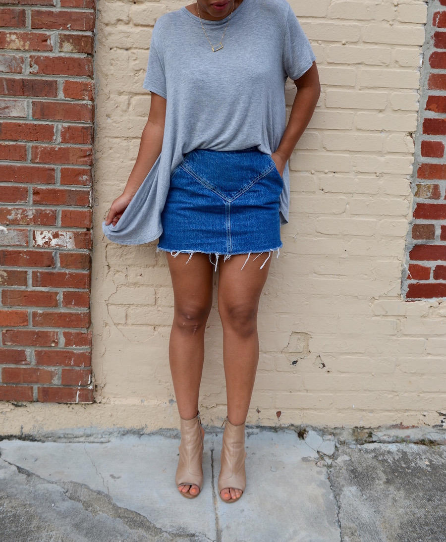 short denim skirt 5