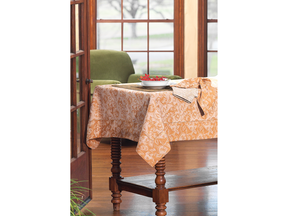 JC Penny catalog and website photo of tablecloth