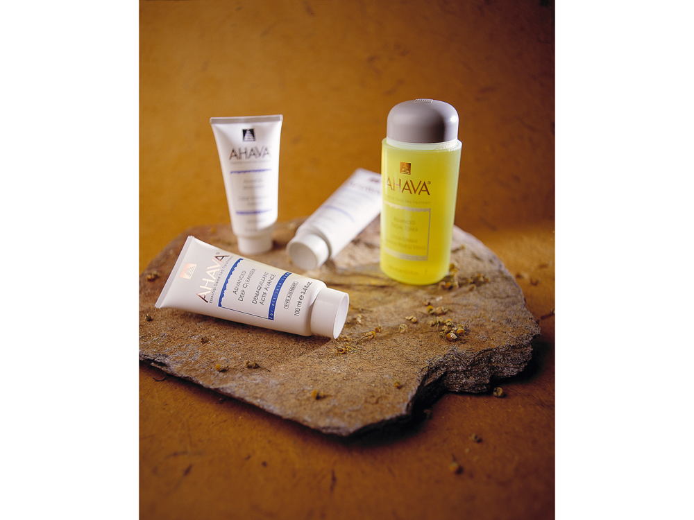 Ahava beauty cleansers product photo for website sales