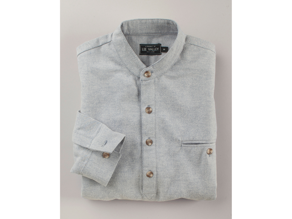 Photo of folded shirt for catalog use